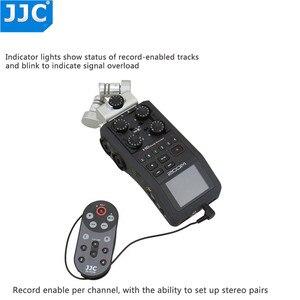 Image 4 - Проводной пульт дистанционного управления JJC 1,5 м/4,6 футов, ler Commander для Zoom H6, удобный портативный цифровой рекордер, заменяет телефон
