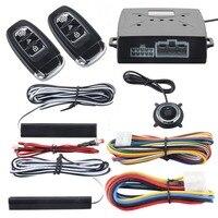 Qualità EASYGUARD universale sistema di allarme dell'automobile di pke passivo keyless entry e premere il pulsante di avvio/arresto di inizio del motore a distanza dc12V