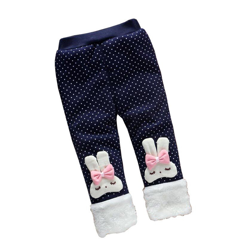 BibiCola baby girls warm pants toddler girls thicken warm Leggings trousers for girl casual winter pants kids girls sport pants
