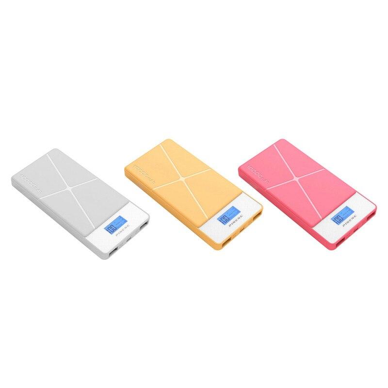 imágenes para Pineng-983 Banco de la Energía 10000 mAh LED de Batería Externa Portátil Móvil Dual USB Powerbank carregador portatil para celular