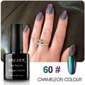 Gel Len Chameleon Nail Gel Polish New Elegant 6 Colors Nails Art Glitter LED Soak Off Long-lasting Gel Varnish Polish