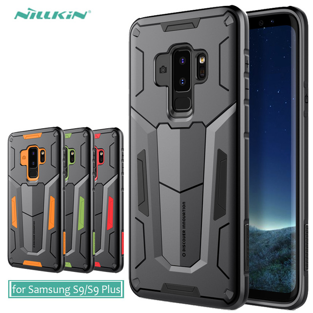 hot sale online 40d87 6e47d US $9.89 10% OFF|for Samsung Galaxy S9 Plus Nillkin Defender 2 Armor  Protective Outdoor Back Case Cover for Samsung Galaxy S9 Phone Back Case-in  ...