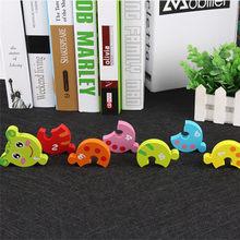 e06222ad81 Baby Spielzeug Raupe Blöcke Mehrfarbigen Digital Erkenntnis Kind Pädagogisches  Lernen Tier Bausteine Geburtstag Geschenk