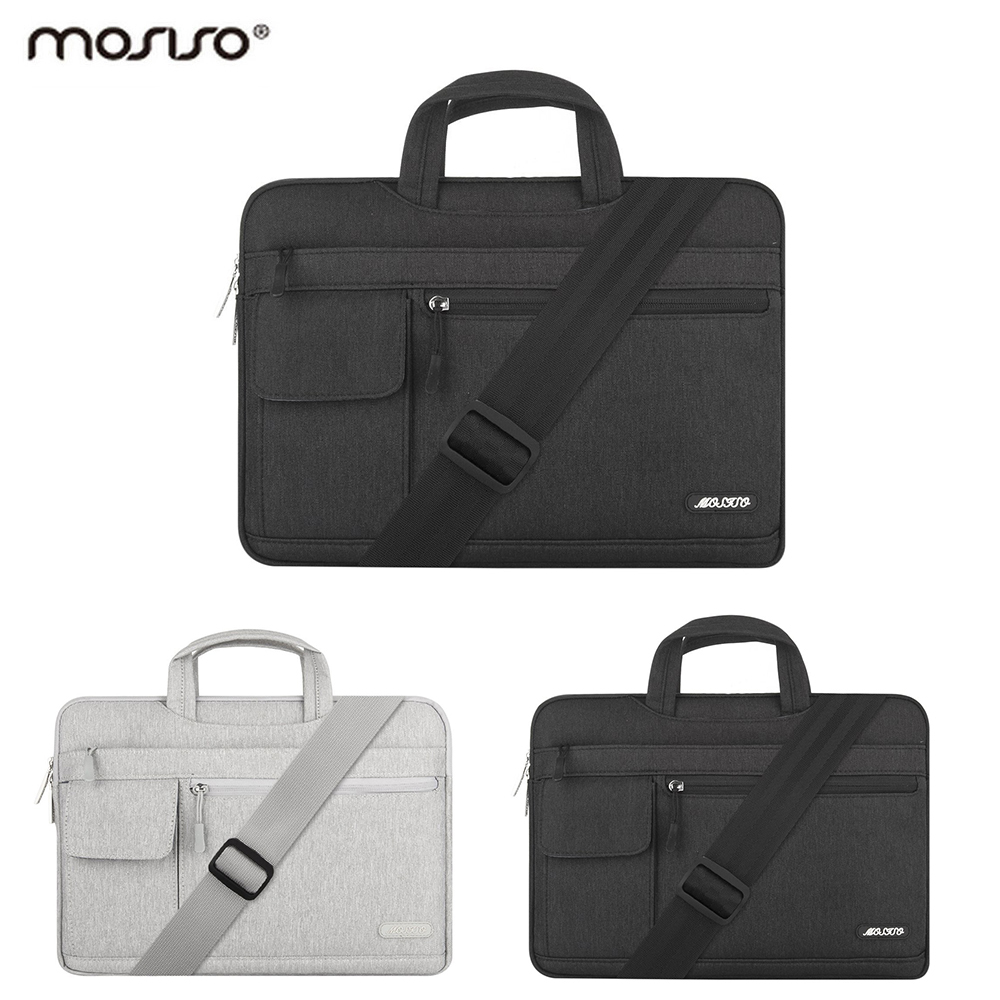 Mosiso 13.3 15.6 17 inch Computer Messenger Shoulder Bag for Macbook Air/Pro/Dell/Lenovo/Xiaomi Laptop Pouch Cover Accessories