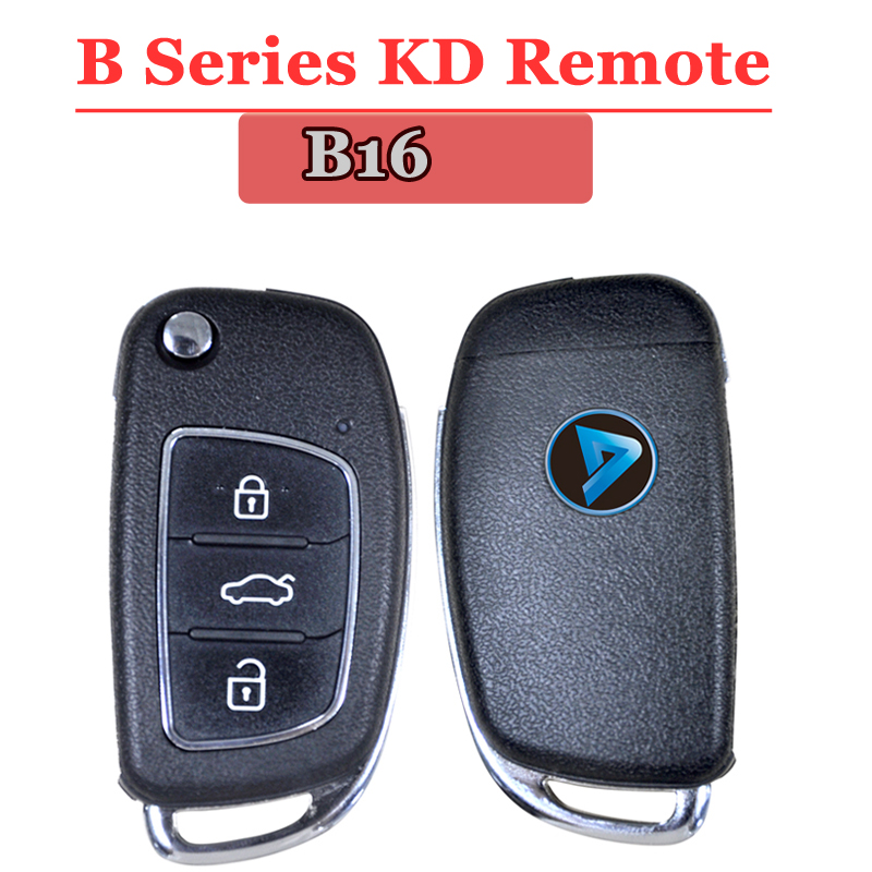 (1PCS/LOT)B16 KEYDIY  Remote Control 3 Button B Series Remote Control For KD900 URG200 KD200 Make New Remote Key