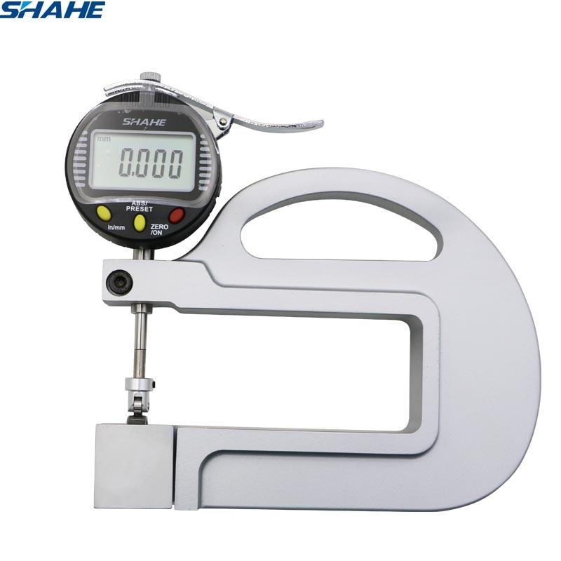 Digital Thickness Gauge With Roller Insert Measuring tool 0.001mm Thickness gaugeDigital Thickness Gauge With Roller Insert Measuring tool 0.001mm Thickness gauge