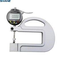 Medidor de espessura de digitas com medidor de espessura da ferramenta de medição 0.001mm da inserção do rolo