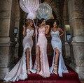 2016 nova chegada colorido querida Applique Zipper voltar sereia longo da dama de honra vestidos para festa de casamento