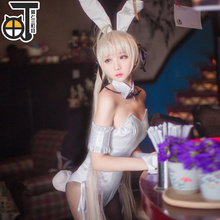 Dome sister bunny girl cos edge of the empty anime maid outfit plus Wig hairpiece Japanese Sexy Rabbit Lady cosplay
