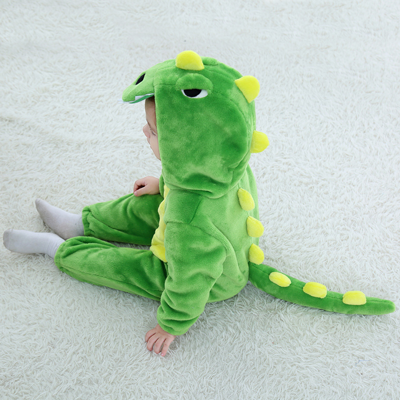 Mother & Kids Bodysuits & One-pieces 2019 New Born Baby Spring Rompers Cute Cartoon Dinosaur Costumes Baby Boys Girls Fashion Clothes Jumpsuit For Children Pajamas