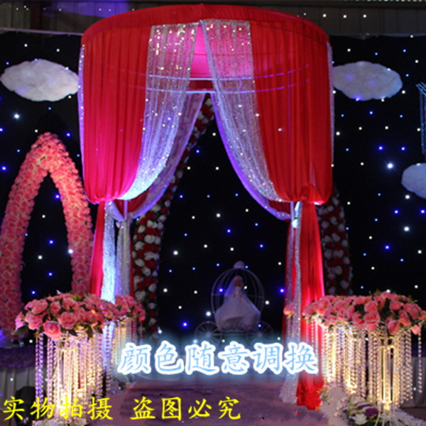 Sequin fabric round pavilion wedding decoration backdrop drape gauze sequin fabric round pavilion wedding decoration backdrop drape gauze curtain for stage drape decoration party junglespirit Choice Image