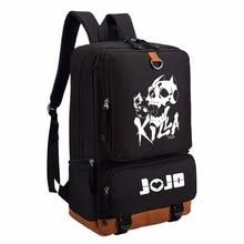 Wishot jojo bizarre adventure killer 퀸 배낭 숄더 여행 학교 가방 bookbag for teenagers 캐주얼 노트북 가방 lumino