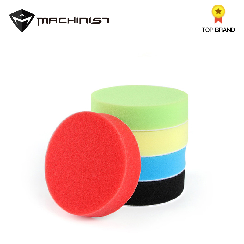 5Pcs Car Polished Sponge Auto Polisher Pad Polishing Foam