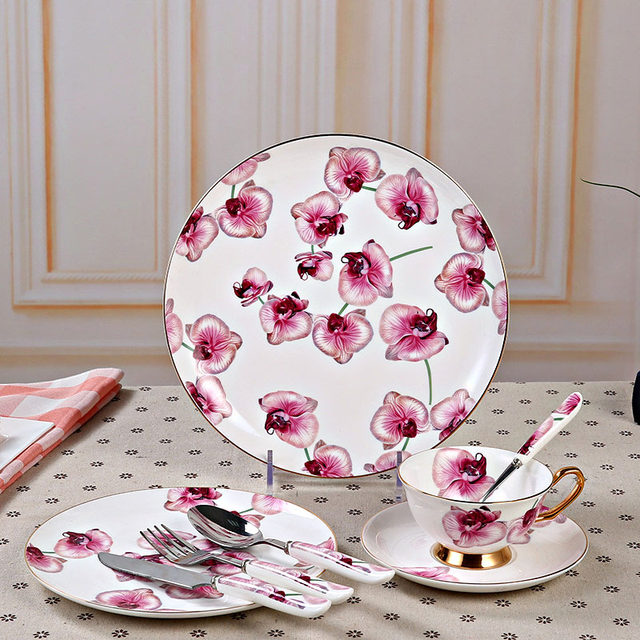 image & Online Shop GLLead Top Grade Bone China Tableware Home Restaurant ...