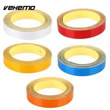 Vehemo Car Truck Reflective Strip Night Safety Warning Tape Sticker DIY 1CMx5M
