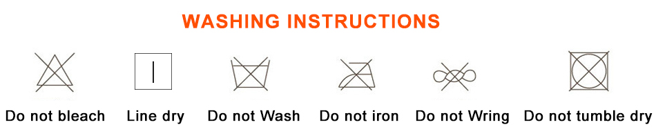 sun hat washing notice
