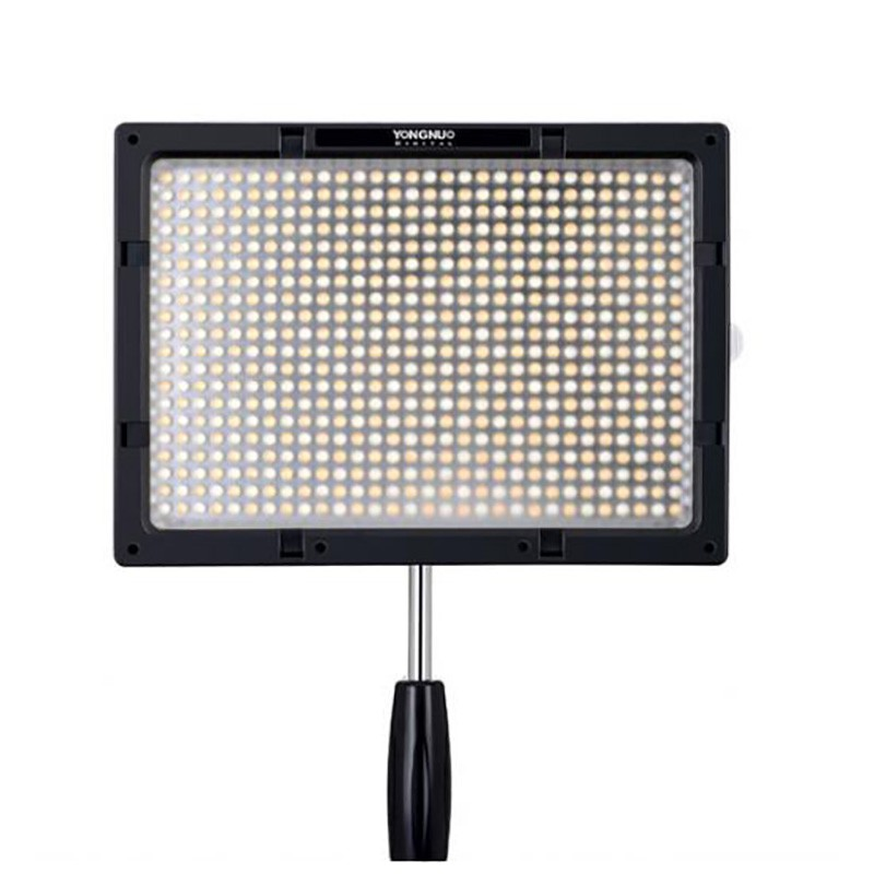 <font><b>YONGNUO</b></font> <font><b>YN600S</b></font> 3200K-5500K LED Camera Video Light with Memory Function for Canon Nikon Pentax Olympas Samsung DSLR & Camcorder image