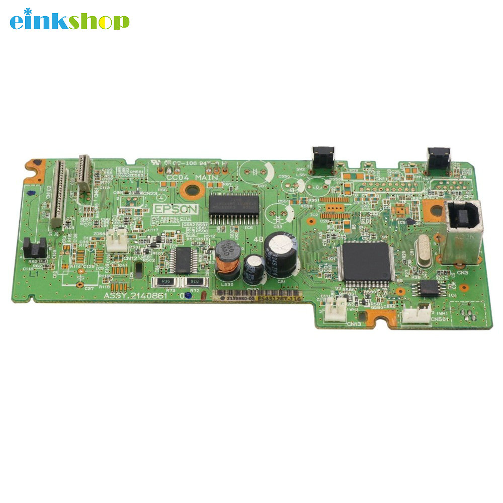 1Pcs Used Main board Formatter Board for Epson L365 L366 L375 printer Main logic mother board 1pcs used main board formatter board for epson l365 l366 l375 printer main logic mother board