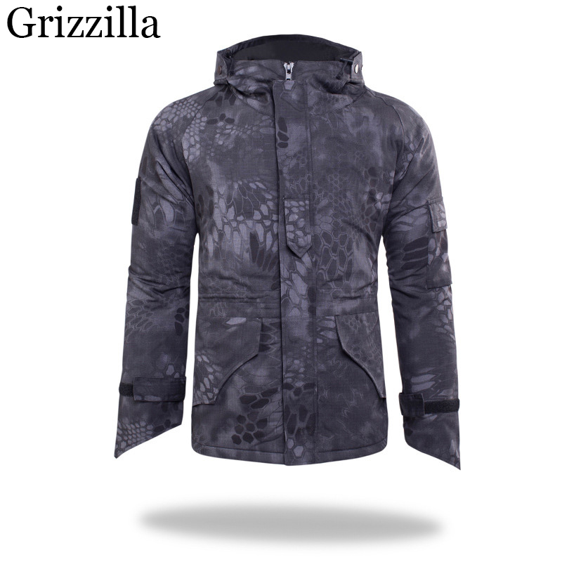 Grizzilla 2017 New Ski Jackets Winter Men Windproof Warm Camouflage Coat Male Waterproof Snowboard Hiking Jacket 6 Colors 4 colors winter women men camouflage ski jacket waterproof windproof warm ski coat breathable snowboard hooded jacket outwear