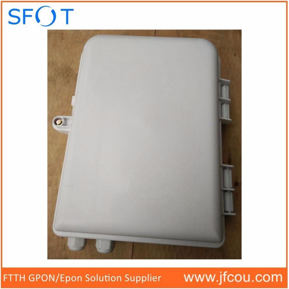 FTTH Fiber Tool, FTTH Fiber optical termination box for 1*16 PLC or 2pcs 1*8 Fiber splitter