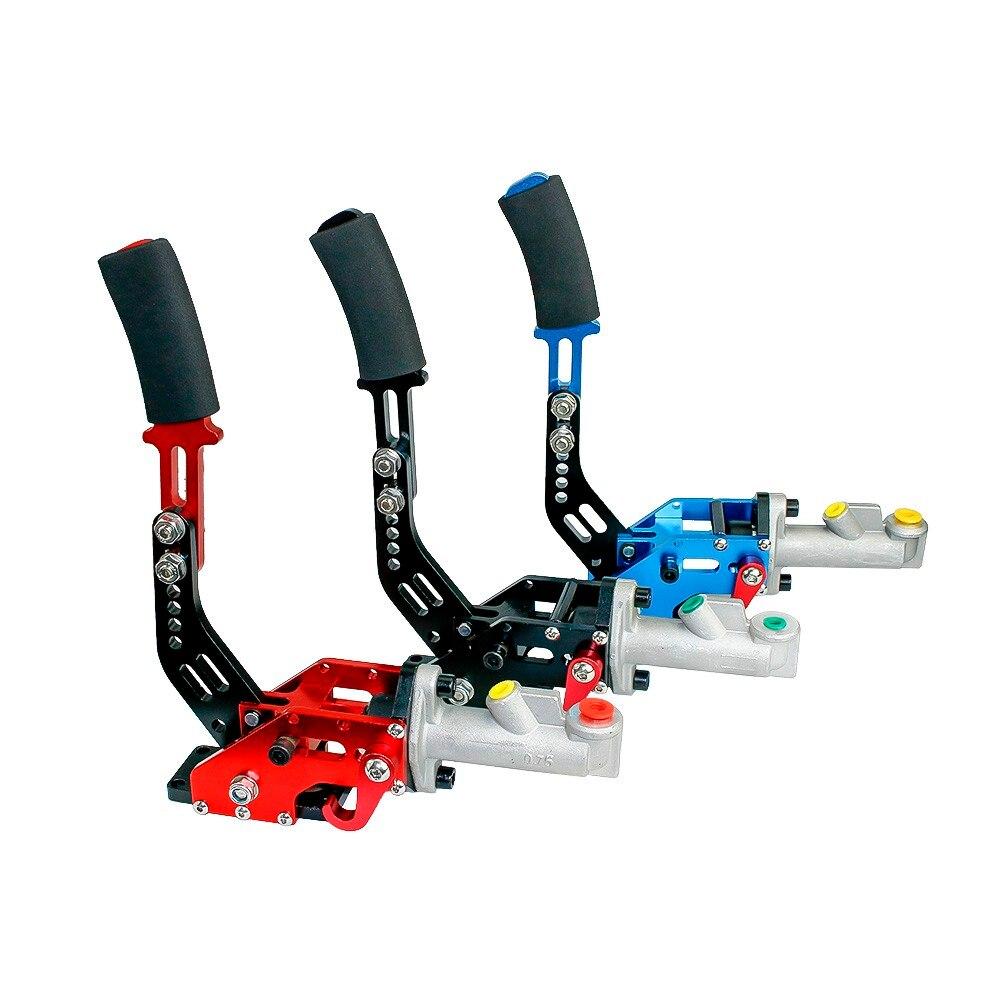 Free Shipping New Universal Hydraulic Handbrake Racing Car Handbrake Drift Hand Brake Parking Black Blue