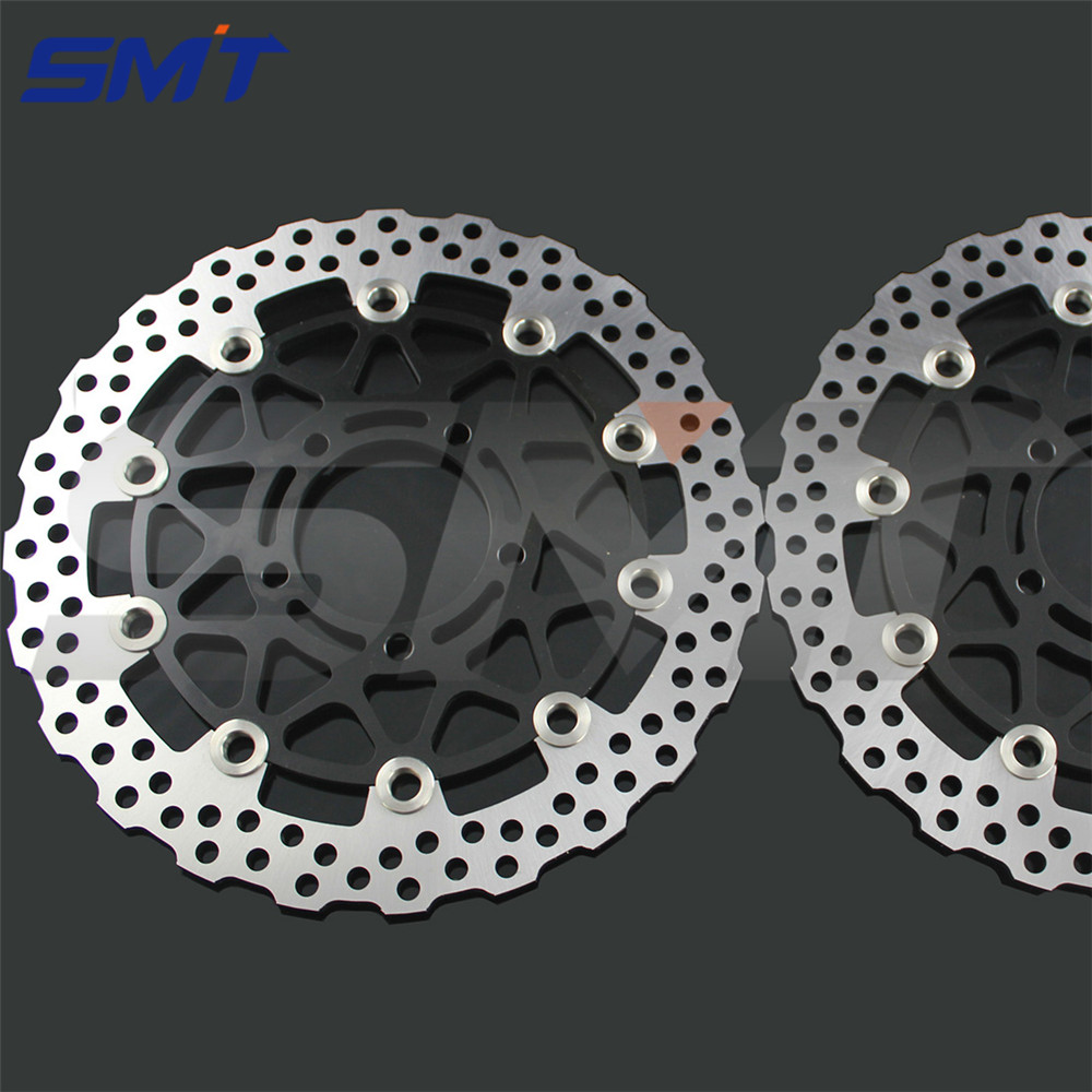new style motorcycle Accessories front brake disc rotor For KAWASAKI ZX10R 1000CC model year 2008 2009 2010 2011 2012 2013 2014 new brand motorcycle accessories front brake disc rotor for kawasaki zx10r 1000cc model year 2008 2009 2010 2011 2012 2013 2014