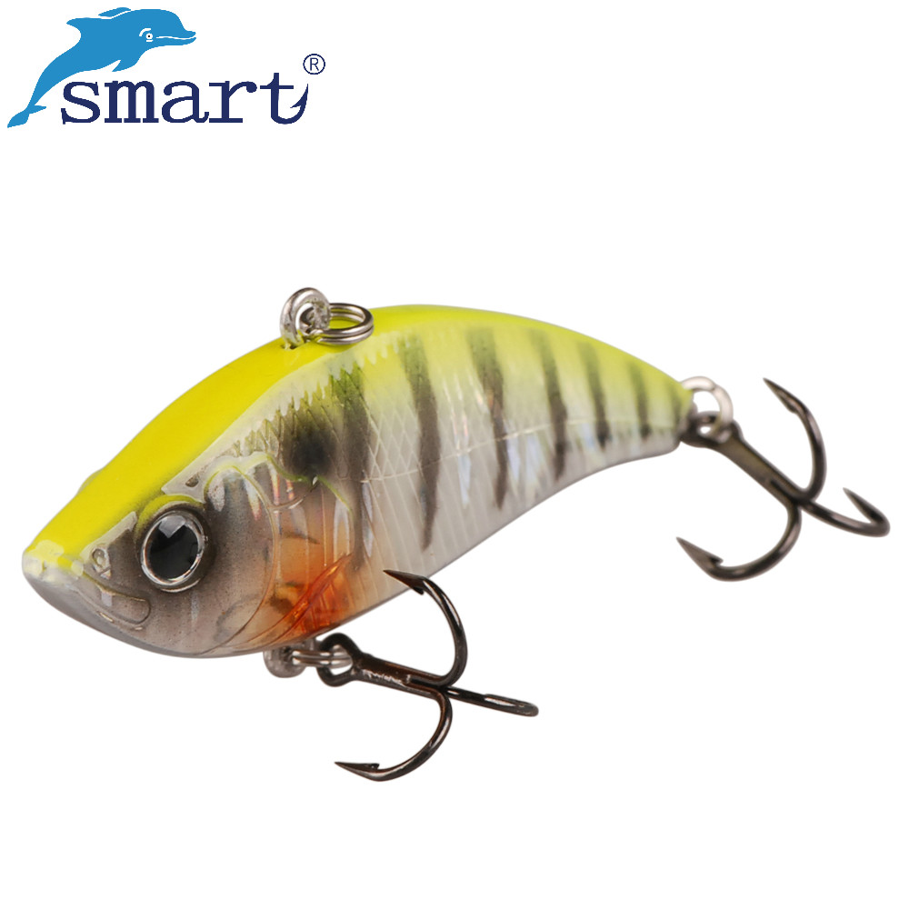 Smart Sinking Fishing Lure 6cm 10.6g Wobblers Artificial Hard Bait VIB Vibration Bait with Lead Inside Winter Ice Fishing Tackle wlure 7g 14g 18g fishing lure spin tail spin sonic spoon vib hard bait sinking sp9