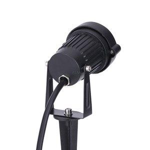 Image 5 - 220V 110V Outdoor LED Garden Lawn Light 9W Landscape Lamp Spike Waterproof 12V Path Bulb Warm White Green Spot Lights
