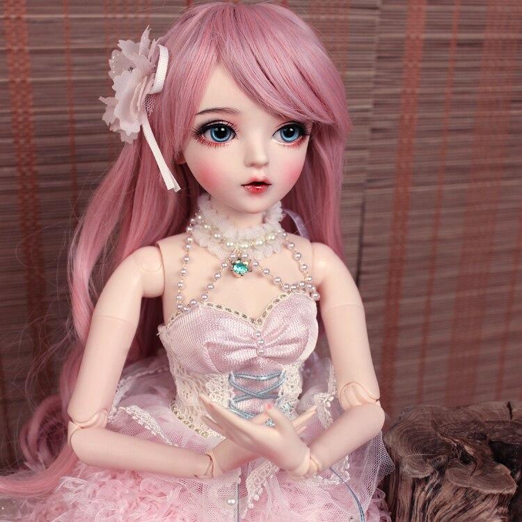 BJD 1/3 balle articulée poupée cadeaux pour fille peint à la main maquillage fullset Lolita/princesse poupée avec des vêtements MAN-YU - 5