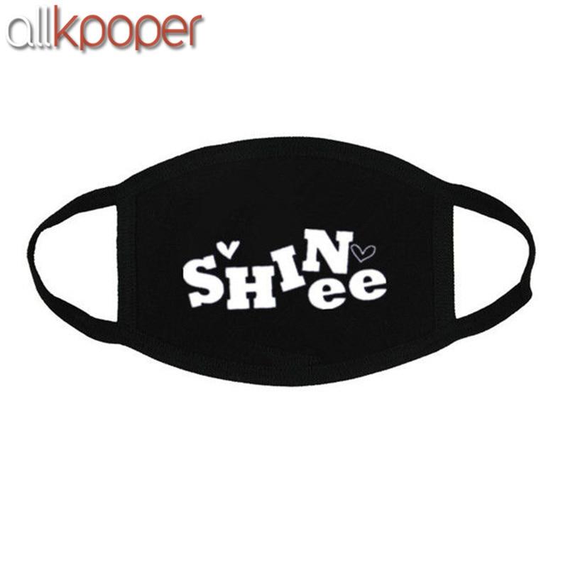 ALLKPOPER SHINee Mouth Mask Muffle K-POP JongHyun KEY Minho Onew Taemin KPOP Face Mask