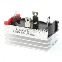 Aluminum Heatsink Base Single Phase Bridge Rectifier Diode 75A 1000V