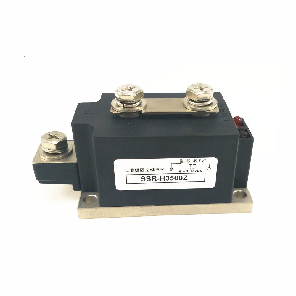 Industrial solid state relays 500A H3500Z high current single phase AC type SSR-H3500Z fotek yang ming single phase dc control ac solid state relays ssr 50da