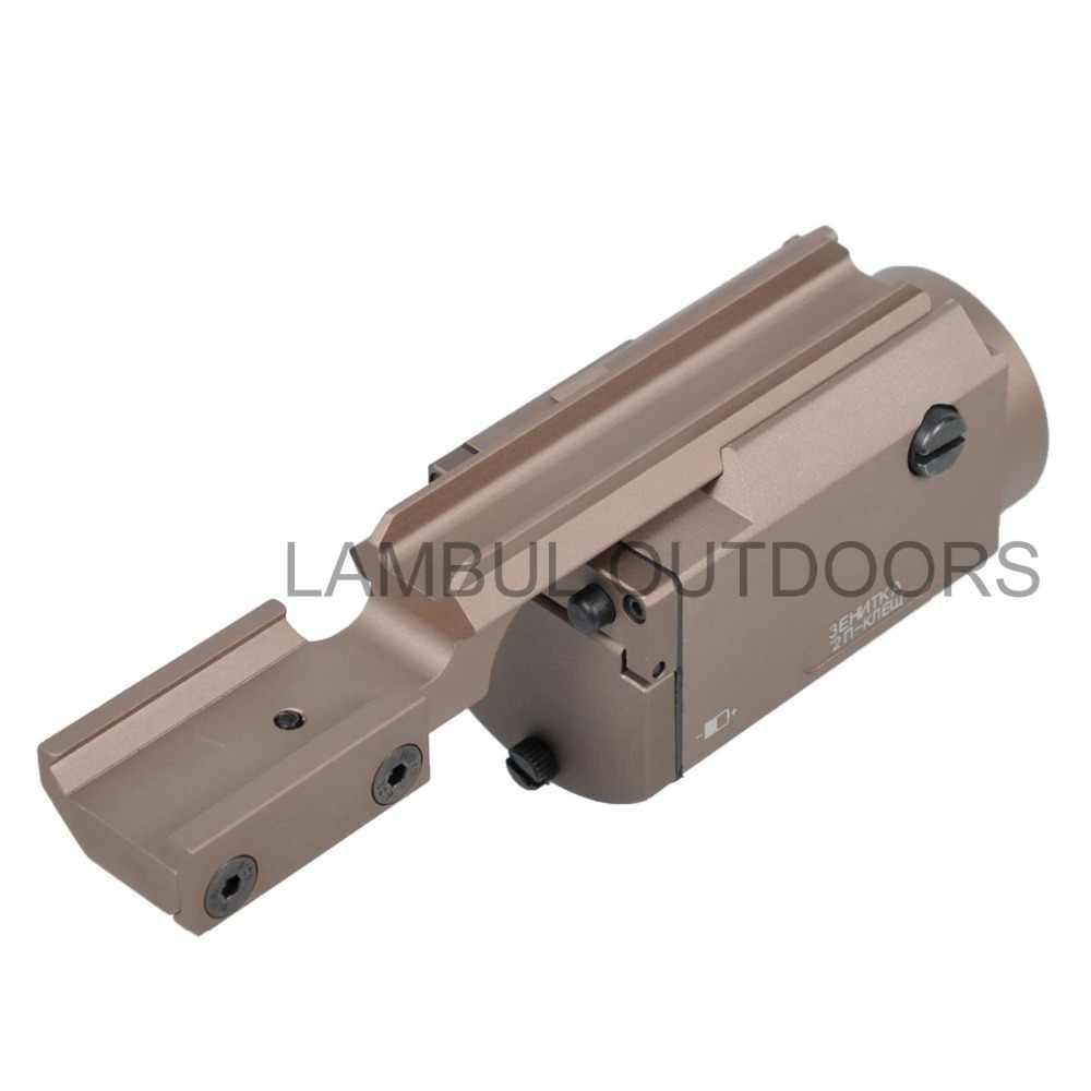 Tactical AK47 Gun Light AK-SD ZENIT 2P-KLESH TWPS Weapon LED Flashlight  AK74 Fit 20mm Picatinny Rail Momentary Strobe Output
