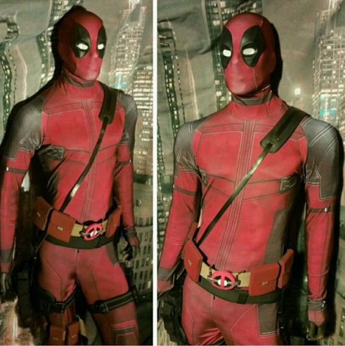 Pria dewasa cosplay Ant-Man Batman Super Hero Spider-man Avengers Superherp Deadpool Kostum, Full Body Deadpool Cosplay