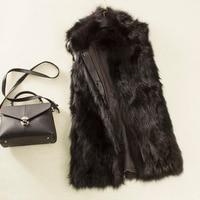 womens fox fur vests