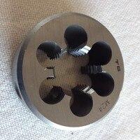 Il trasporto libero 1 PZ M24 * 1.0/1.25/1.5/2.0/3.0mm metric manuale Die Filettatura strumenti Tornio Modello Ingegnere Filo Maker per DIY maker