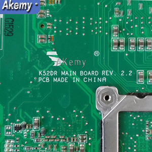 Image 5 - K52DR اللوحة لابتوب For Asus K52DY A52D K52DE K52D X52D K52DR اللوحة 1GB HD5470 8 * الذاكرة