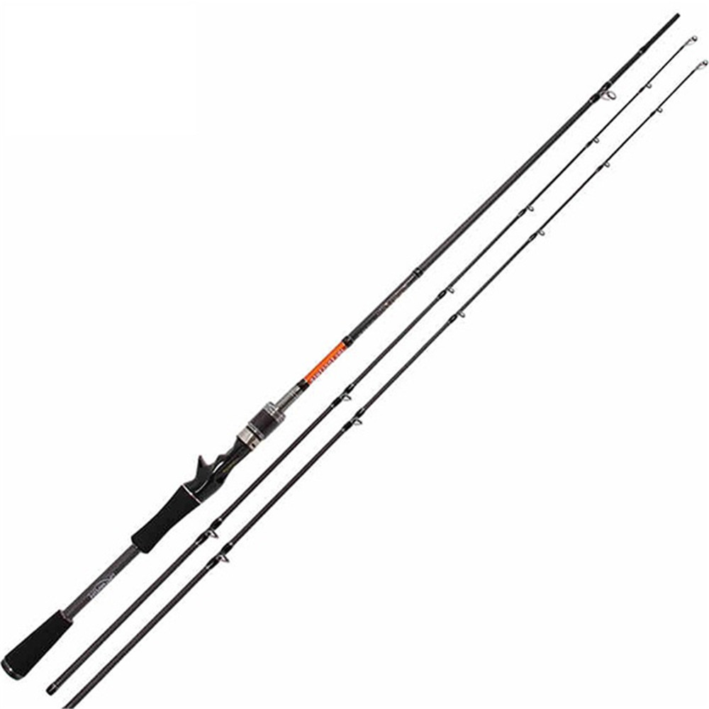 Super Strong 2.1m Lure Fishing Rod With 2 Tips Power M High Carbon Bait Casting Rod 210cm Fishing Rod Fishing Tackle