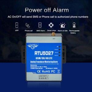 Image 2 - GSM Modbus RTU аналоговый преобразователь 0 5 В, контроль напряжения, сигнализация сбоя питания с SMS оповещением RTU5027V