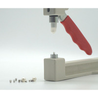 High Quality Beading Machine Non porous Pearl DIY Manual Pearl Rivet Metal + Plastic
