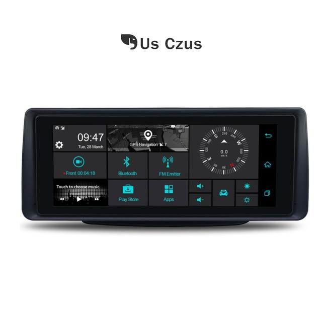 Car DVR Rear View dash cam Android 5.1 4g wifi GPS cardvr Dual lens 1G RAM DDR3 16G ROM registrar  Camera