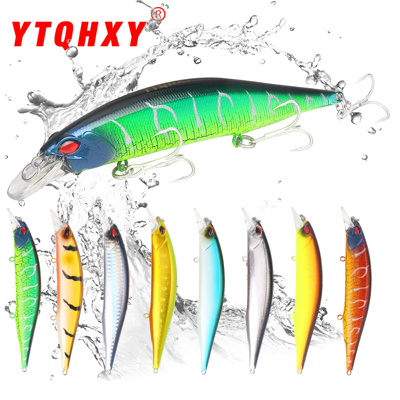 YTQHXY 2018 Quality Professional Hard Bait 135mm 19.2g Floating Minnow Fishing Lure Wobbler Bass Pike Artificial Lures YE-498 ytqhxy 2pcs lot 12 5g 13cm soft bait fishing lure shad silicone bass flexible minnow bait swimbait plastic lures pasca ye 120
