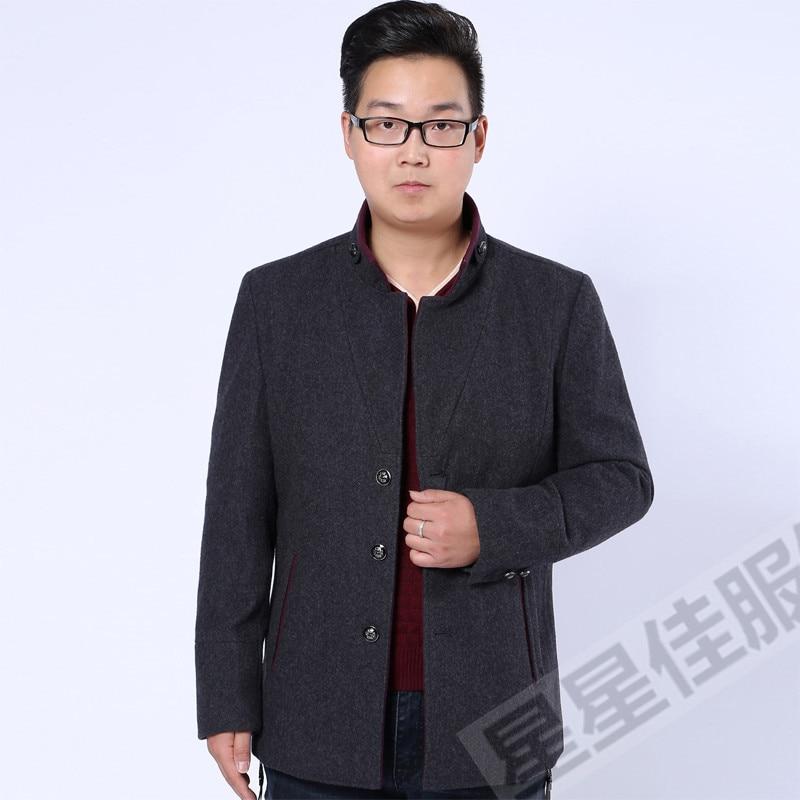Abrigo de invierno de talla grande 10XL 8XL 6XL para hombre, ropa de marca a la moda, abrigo grueso y cálido de lana para hombre - 6