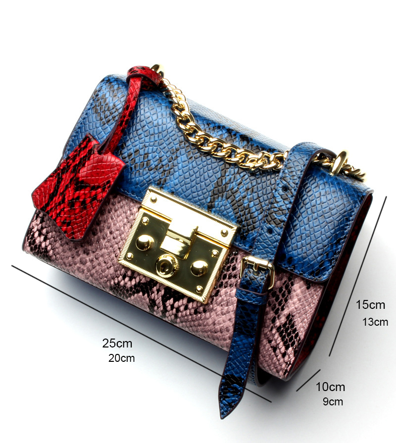 Yellow Dark Pink big Mode Quotidiens Femelle Conception small Style Pink Cowskin Small Femmes small Grey Red Blue À Green Sac Blue small Main Serpentine Européen Yufang Grey Messenger Pink De Dames Achats big fCw6TWSnqx