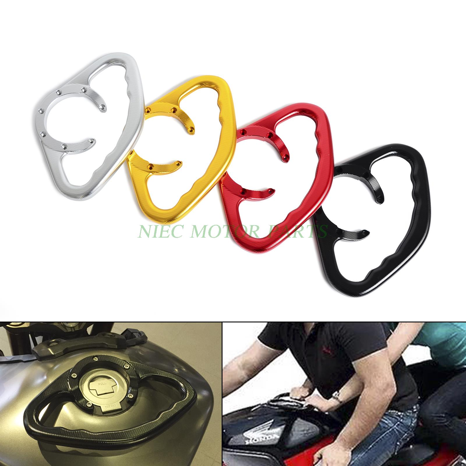 ФОТО Motorcycle CNC Tracer Passenger Gas Fuel Tank Handle Grab Bar For Honda CBR600RR CBR900RR CBR1000RR 2004-2013