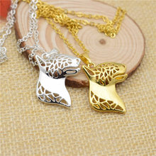LPHZQH fashion Boho Chic English Bull Terrier dog choker pendant Women necklace Jewelry Christmas gift punk gold silver color