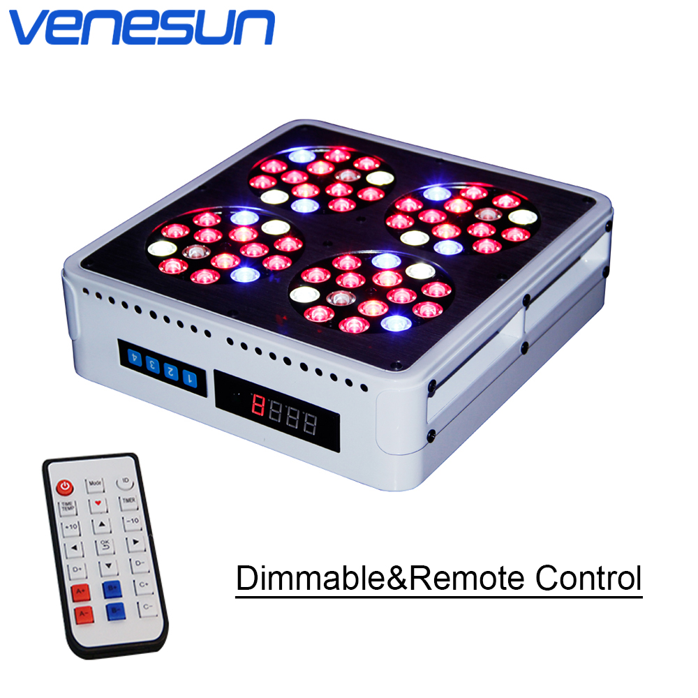LED Grow Light Venesun Apollo 4 LED Dimmable Remote Control Full Spectrum Grow Lamps for Indoor Planting Hydroponic Greenhouse led grow light venesun apollo 4 full spectrum grow lamps high efficiency grow led for indoor planting hydroponic greenhouse