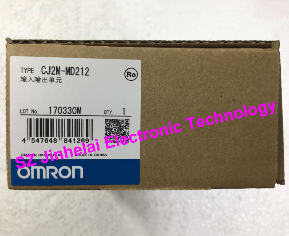 100% New and original CJ2M-MD212  OMRON  INPUT OUTPUT UNIT new and original e3x da11 s omron optical fiber amplifier photoelectric switch 12 24vdc