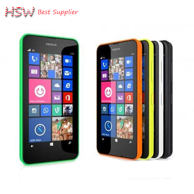 "Original Nokia Lumia 636 Original 4G LTE Mobile Phone 4.5"" IPS Gorilla Glass 5MP Camera Quad core Windows 8.1 1GB RAM 8GB ROM"