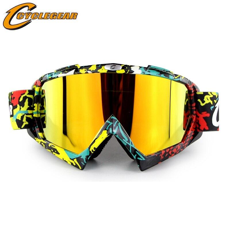 CS Спорт маска Лыжный спорт Сноуборд Очки мотокросс goggle мотоциклов Gafas cyclegear cg11